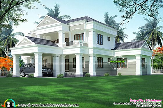 5 BHK modern house in 3119 sq-ft