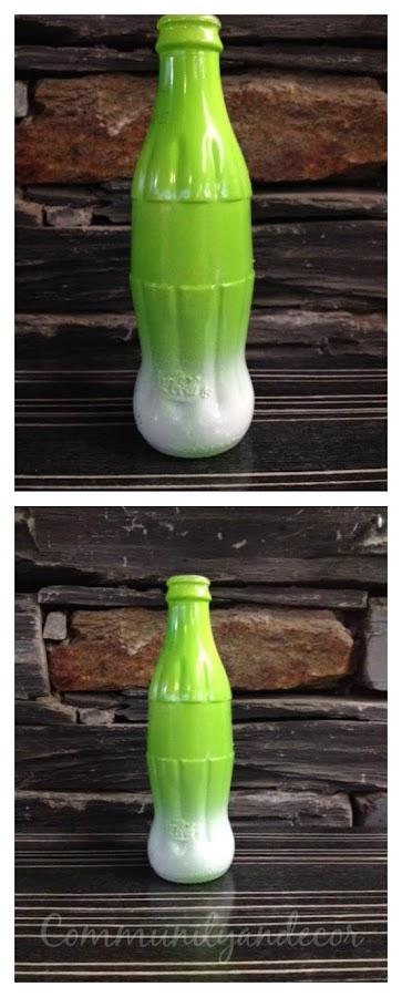 reciclar botellas de coca cola en floreros
