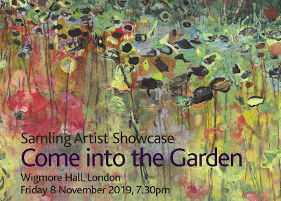 Samling Artist Showcase - Come into the Garden - Wigmore Hall