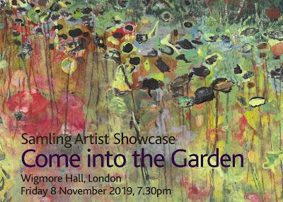 Samling Artist Showcase - Come into the Garden - Wigmore Hall