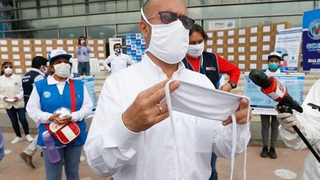 Covid-19: Minsa entregará 10 millones de mascarillas comunitarias en todo el país