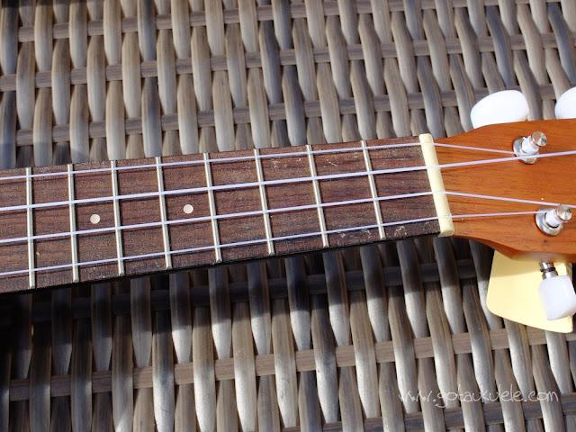 Lanikai LU21 ukulele Fingerboard