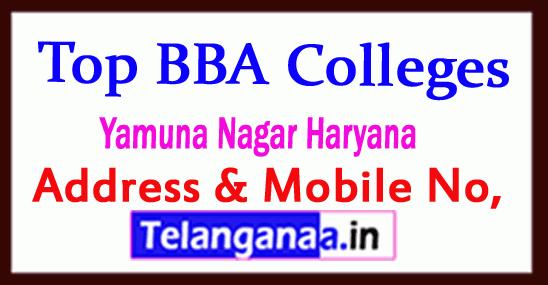 Top BBA Colleges in Yamuna Nagar Haryana