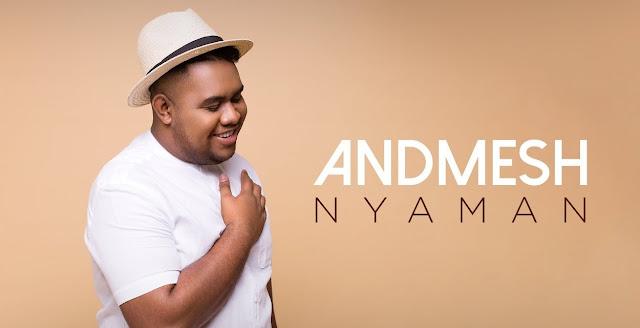 Lirik lagu Nyaman - Andmesh