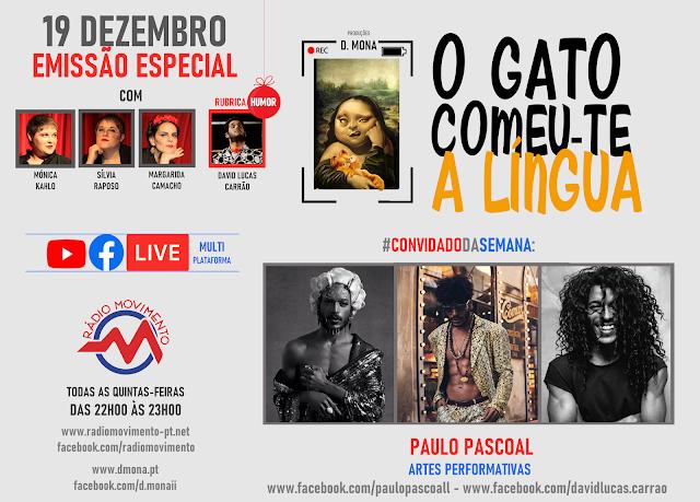 CONVIDADO DA SEMANA: PAULO PASCOAL