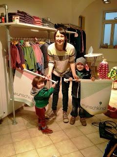 Stella Brunner und Kids beim Feinschliff © WUNSCHKIND