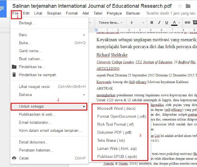 Hasil Translate PDF Inggris-Indonesia