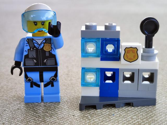 Lego city comisaría mini