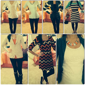 Trendy Tales of a Teacher: Peek into my Closet- January Recap