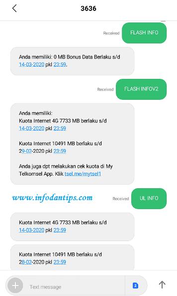 Cara Mudah Cek Kuota Telkomsel