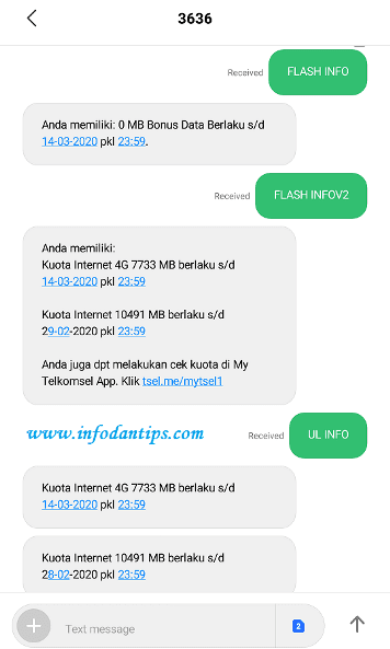 Download Wallpaper Cara Cek Paketan Telkomsel Via Sms