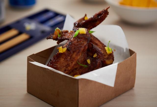 Ticklish Ribs x Devi_s Corner - Chicken Wings with Mango Pachadi