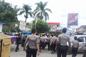 Foto-foto Bentrok Anggota TNI dan Polisi di Sungai Penuh
