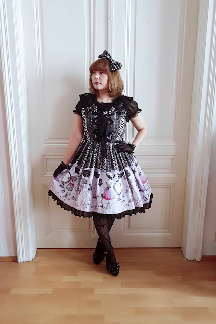 metamorphose temps de fill, lace up doll, lolita fashion, auris lothol, jsk, kawaii, pastel, japanese fashion