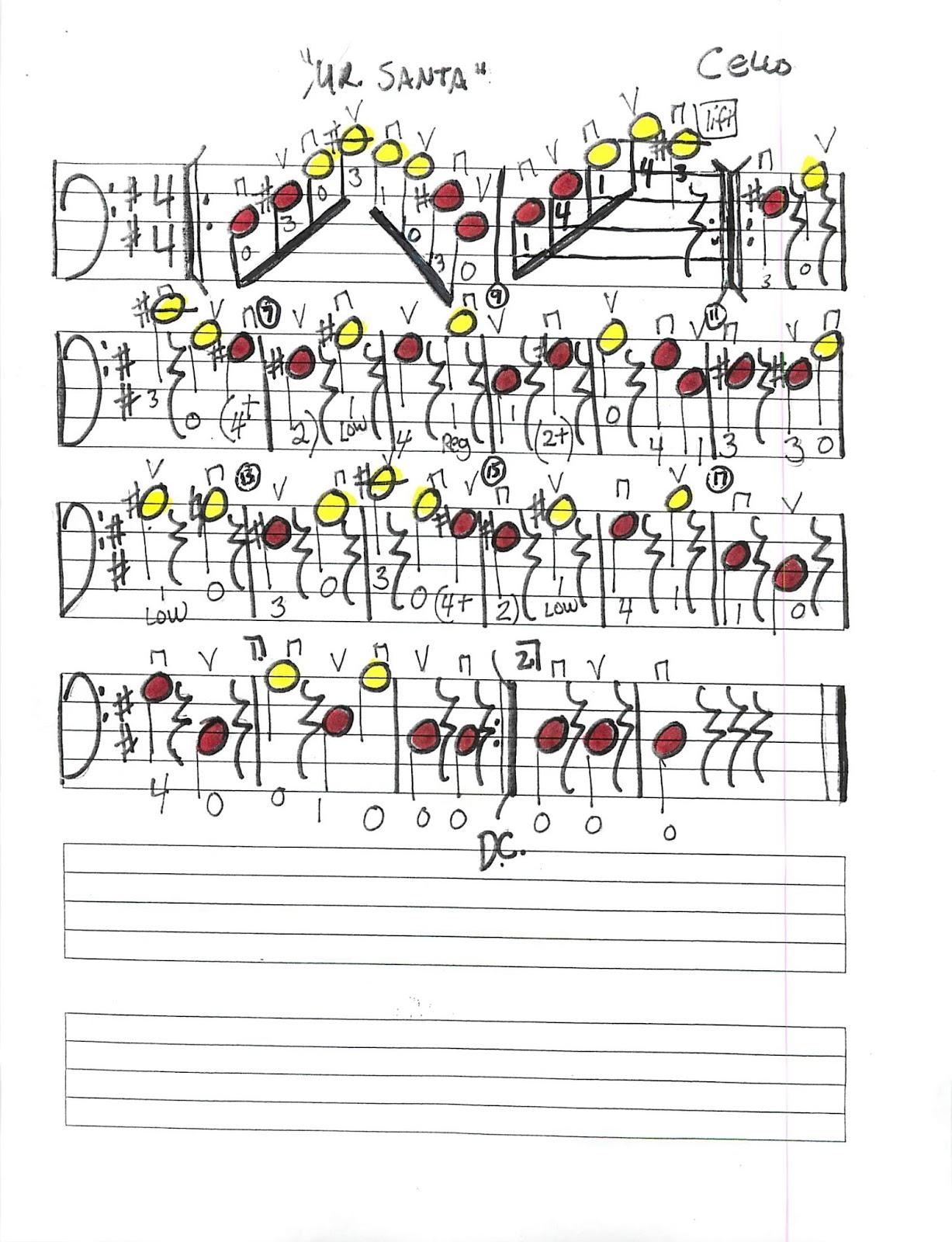 Miss Jacobson's Music: WINTER CONCERT MUSIC 2013: MR. SANTA