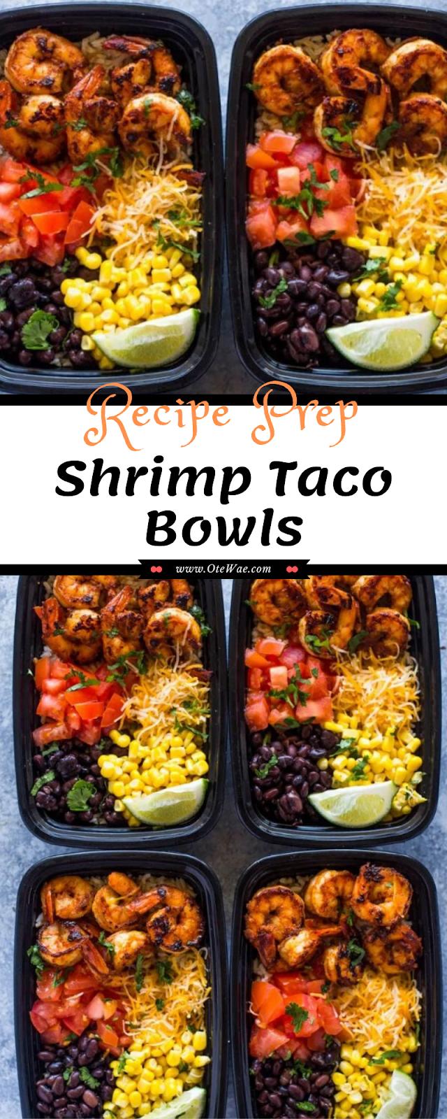 Prep Shrimp Taco Bowls