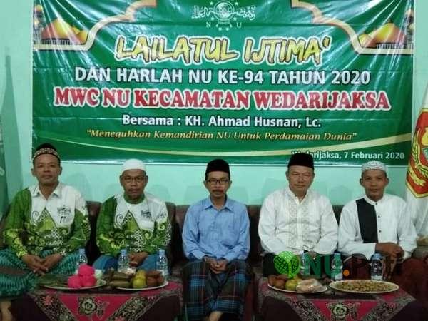 Lailatul Ijtima' MWCNU Wedarijaksa