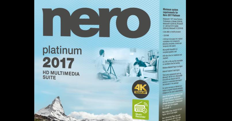 nero 2017 platinum content pack