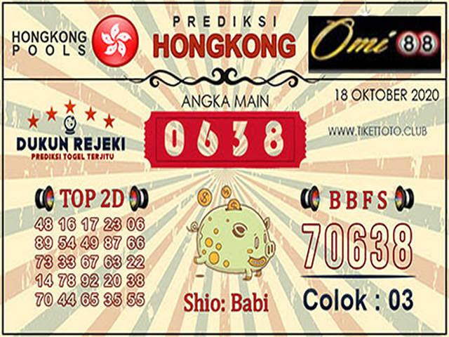 Kode syair Hongkong Minggu 18 Oktober 2020 183