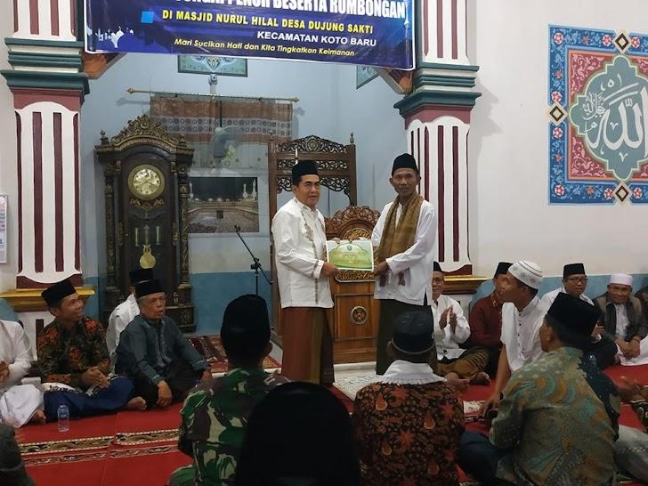 Wako AJB Pimpin Safari Ke Masjid Nurul Hilal Dujung Sakti