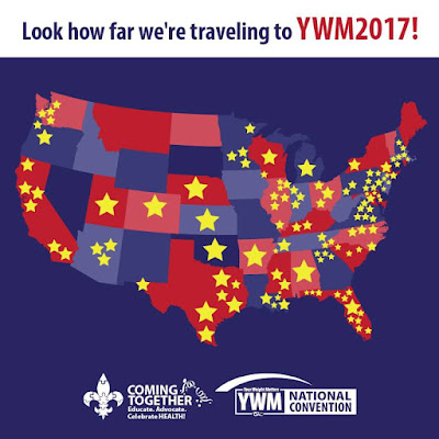 YWM2017%2BMap Weight Loss Recipes Off to #YWM2017 Your Weight Matters National Convention
