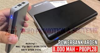 Souvenir Powerbank Arden 8.000 mAh - P80PL28