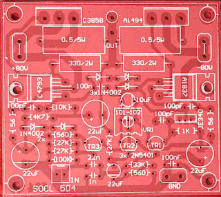 Power Amplifier PCB Layout SOCL 504