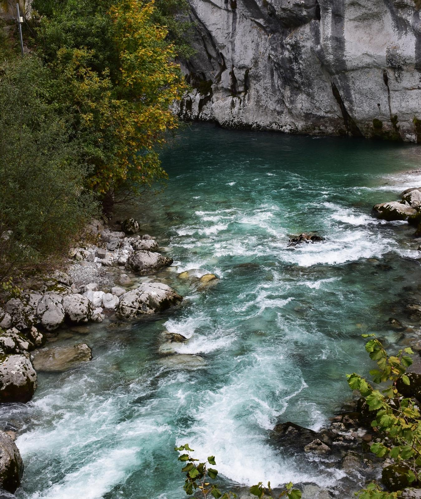 vistas del rio cares