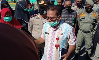 Ratusan Nakes Ogah Ditawari Mediasi Oleh Asisten 1, Ada Apa Ya..?