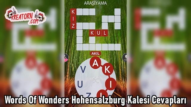 Words-Of-Wonders-Hohensalzburg-Kalesi-Cevaplari