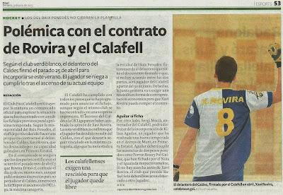 Publicada el 9 de juny de 2015, al Diari de Tarragona