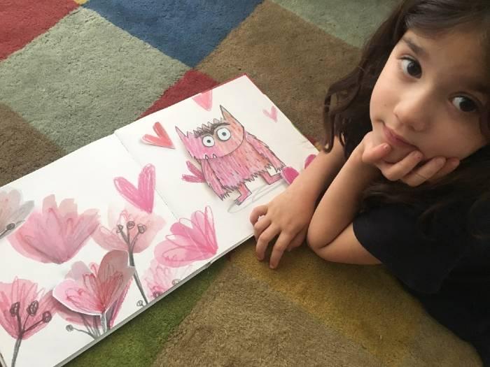 Libro infantil el monstruo de colores trabajar emociones Anna Llenas
