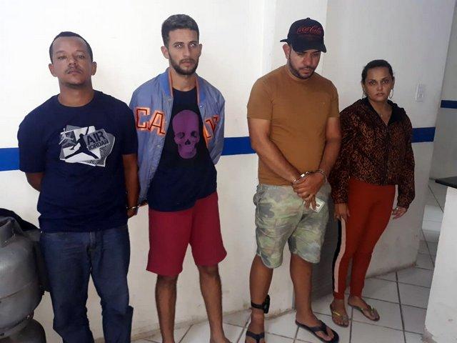 Acusados de integrar quadrilha de roubos de motos são detidos em Santa Cruz do Capibaribe