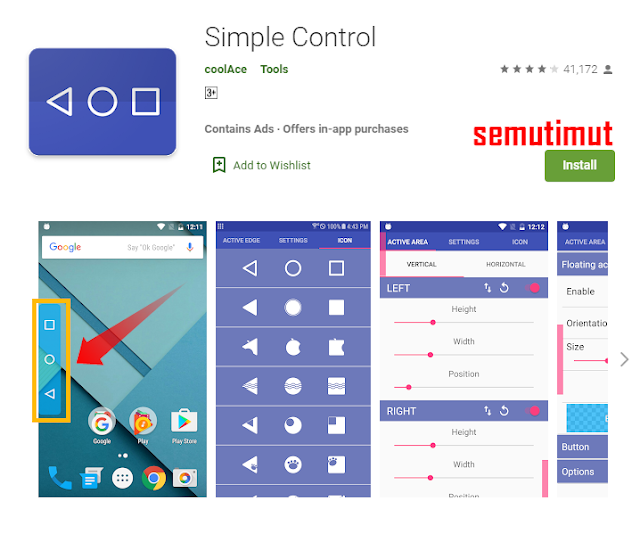 aplikasi pengganti tombol kembali android