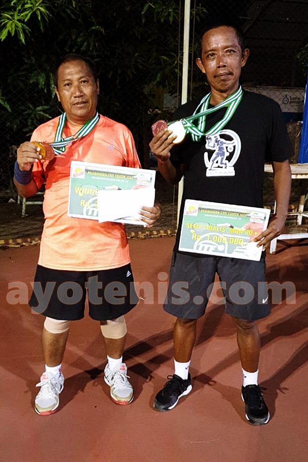 Kusmeidi Tutup Tahun 2020 Dengan Gelar Juara Open Tournament Tennis Pegadaian Cup 2020