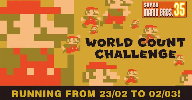 Super Mario Bros. 35 anuncia segundo World Count Challenge