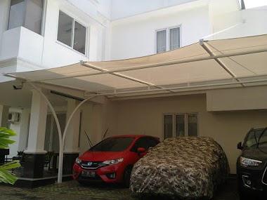 Tenda Membrane Sebagai Garasi