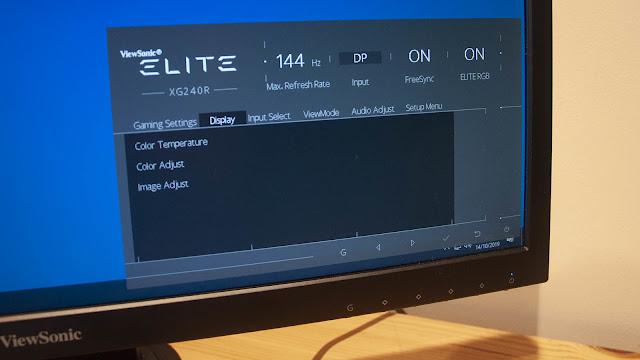 ViewSonic Elite XG240R Review