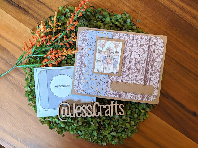 Card created with Authentique Splendor Collection by Jess Crafts