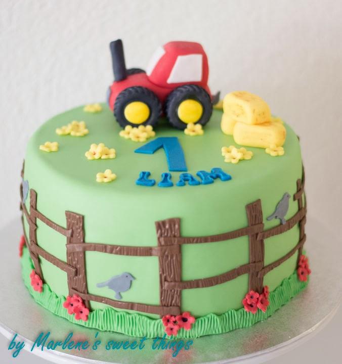 marlene 39 s sweet things traktor torte. Black Bedroom Furniture Sets. Home Design Ideas