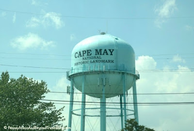 Water Tower in Cape May New Jersey