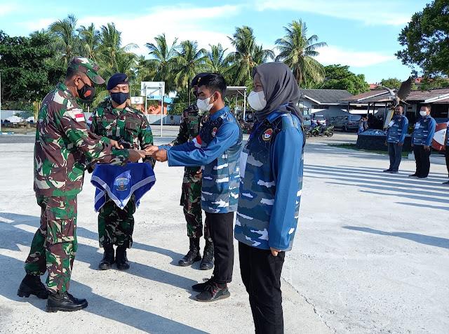 Danlanal Ranai Tutup  Pelatihan Pembinaan Wilayah Perbatasan Laut Tahu 2021
