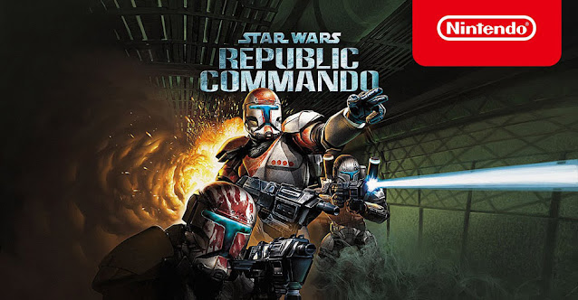 Arte de Star Wars Republic Commando para Nintendo Switch