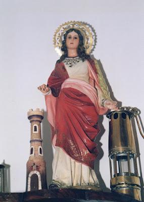 Santa Bárbara, iglesia, Conforcos, Aller, Asturias,