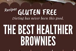 The Best Gluten free Healthier Brownies #glutenfree