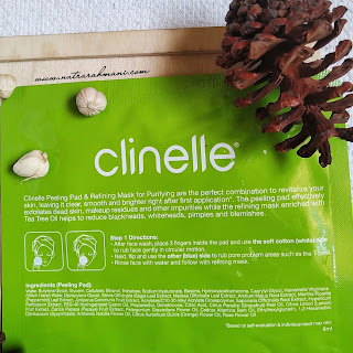 review-clinelle-peeling-pad-refining-mask-purifying-natrarahmani