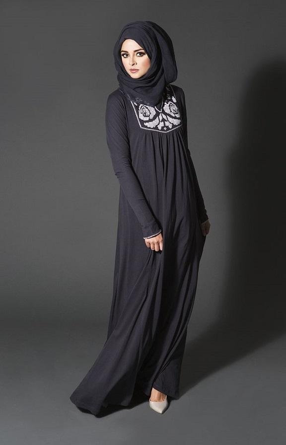 jubah muslimah fesyen yang evergreen