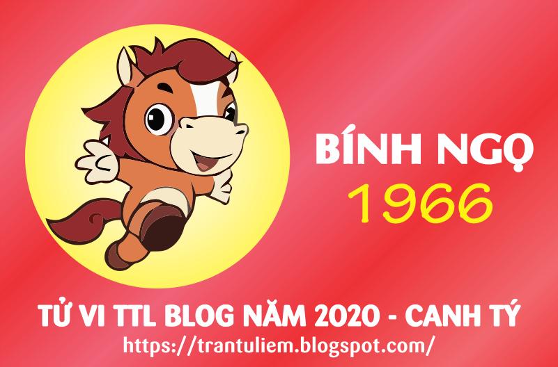 TỬ VI TUỔI BÍNH NGỌ 1966 NĂM 2020