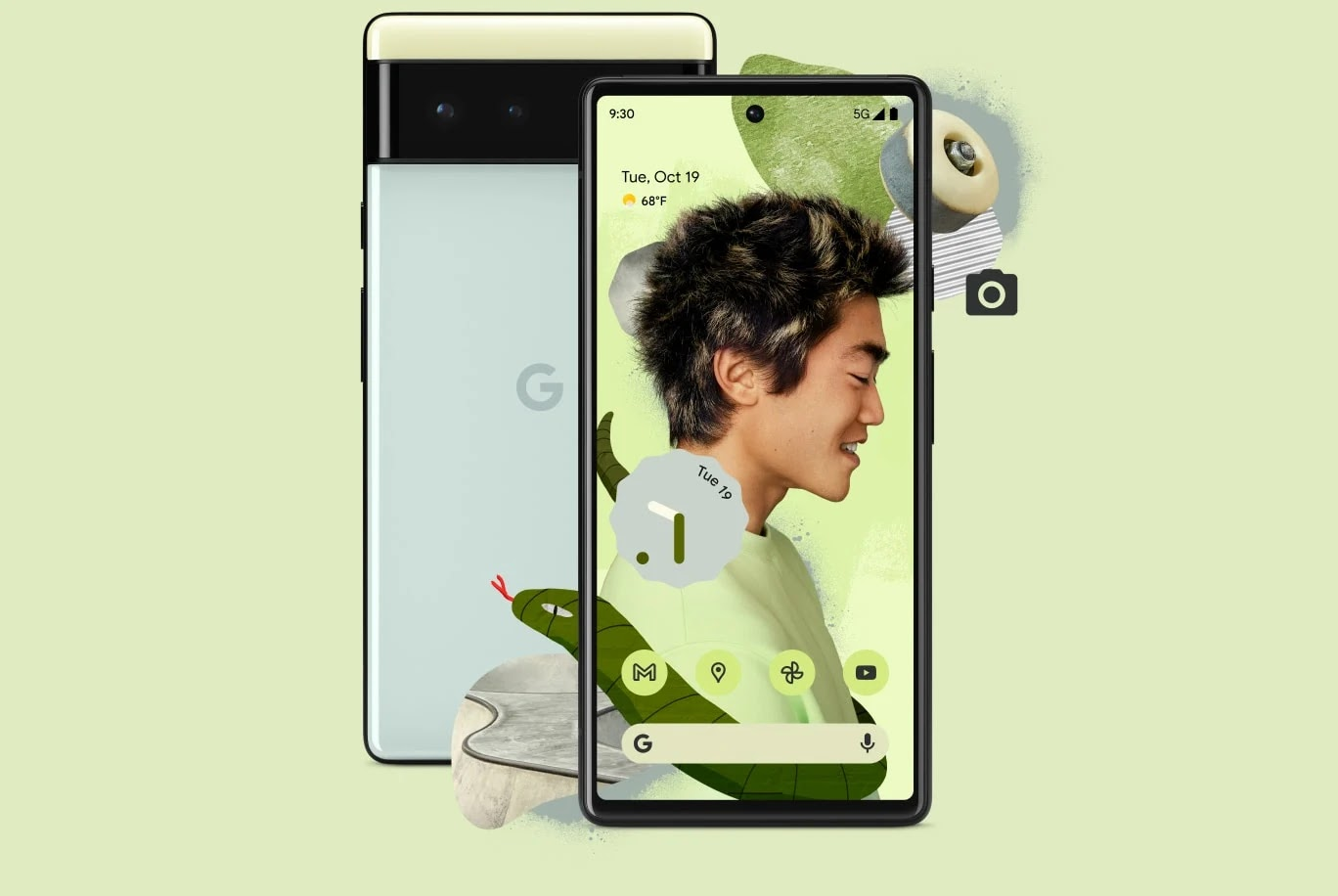 Harga Google Pixel 6 dan 6 Pro - Google Tensor dengan Tri-Kamera 50mp