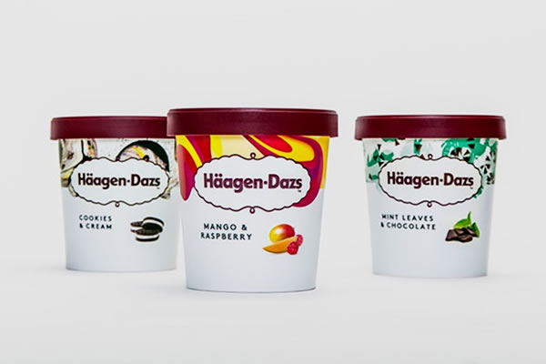 """56 tuổi, hãng kem Haagen Dazs muốn """"trẻ hóa"""" thương hiệu"""